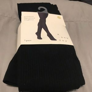 NWT A New Day Ribbed Sweater Tights!